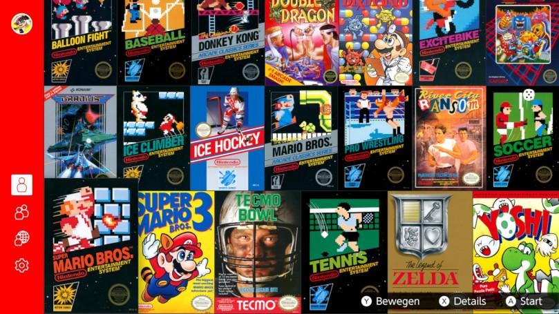 NES-Übersicht